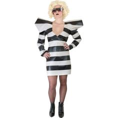 Adult Lady Gaga Prisoner Costume