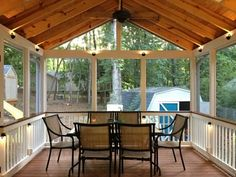 summer screen poarch | Screened porch project