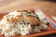 Barefeet In The Kitchen: Lemony Garlic and Herb Halibut