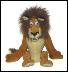 Kohls Dreamworks Madagascar Alex Lion Plush Lovey 12""