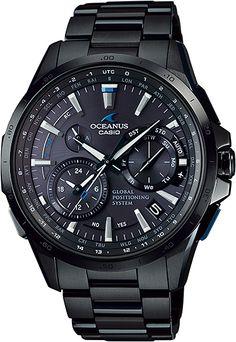 オシアナス CASIO OCW-G1000B-1AJF フルメタルGPSハイブリッド電波ソーラー