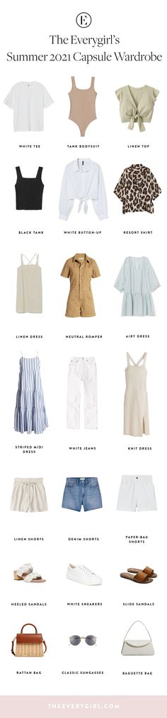 #capsulewardrobe #summerfashion Cool Outfits, Summer Outfits, Fashion Outfits, Amazing Outfits, Holiday Outfits, Dress Hats, Dress Up, Capsule Wardrobe, Capsule Outfits