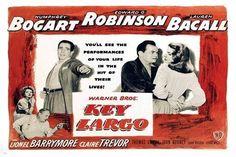 Humphrey Bogart, Key Largo Movie, Lauren Bacall Movies, Bogart Movies, Claire Trevor, Bogie And Bacall, The Big Sleep, John Huston, New York