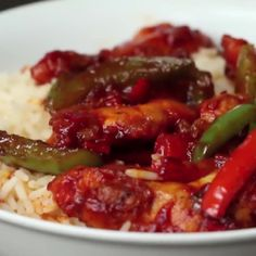 Simple Chilli Chicken (via Proper Tasty) Chicken Biryani Recipe Video, Easy Chilli Chicken Recipe, Chicken Chili, Fried Chicken, Chicken Recipes, Indian Food Recipes, Asian Recipes, Healthy Recipes, Healthy Breakfasts