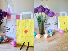 shortyfresh: DIY EASTER BAG AND IDEAS FOR CANDY FREE EGG FILLERS