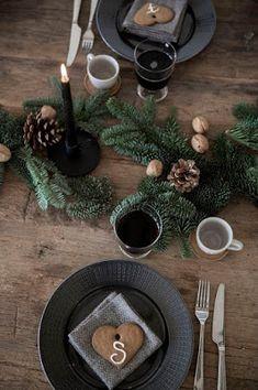 Décoration de Noël pour la table Himla via Nat et nature
