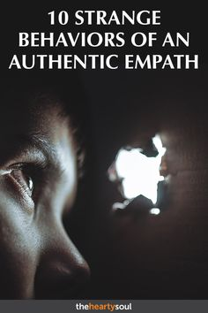 10 Strange Behaviors of an Authentic Empath Many people are beginning to realize that they might actually be an empath. It can be both a blessing and a curse. Empath Types, Empath Traits, Empath Quiz, Psychic Empath, Intuitive Empath, Intuitive Healing, Empath Abilities, Psychic Abilities, What Is An Empath