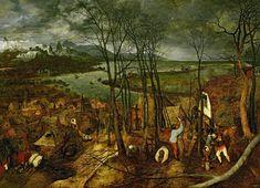 Día triste de Pieter Brueghel el Viejo