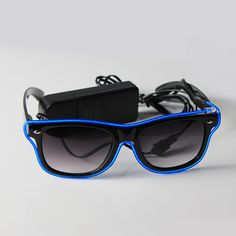 Flashing EL Sunglasses, Buy Various High Quality EL Products From Chinese Professional Supplier and Best Service Manufacturer via Great Favonian Company.