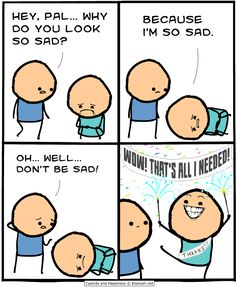 credit-cyanide and happiness Funny Shit, The Funny, Funny Jokes, Funny Stuff, Random Stuff, Memes Humor, Cyanide And Happiness Comics, Haha, Funny Comic Strips
