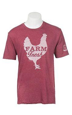 Mason Jar Label Cardinal Farm Fresh T-Shirt | Cavender's