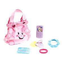 For my granddaughter.   Fisher-Price Laugh & Learn My Pretty Purse