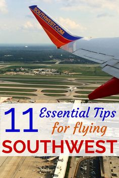 11 Essential Tips for Flying Southwest Airlines: Tips and tricks for those who LUV to fly with Southwest. Find out all about how to make Southwest's boarding process work for your family!