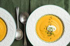 Roast garlic and butternut soup – Recipes – Bite