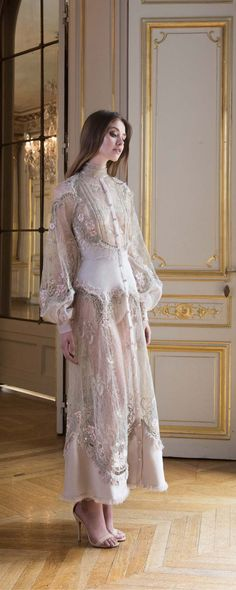 Paolo Sebastian Fall-winter 2017-2018 - Couture - http://www.orientpalms.com/Paolo-Sebastian - ©ImaxTree