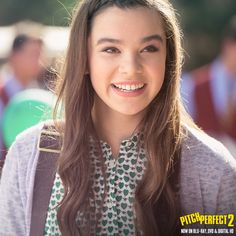 Hailee Stienfield as Emily Pitch Perfect 1, Hailee Steinfeld, Her Music, Jealous, Movies And Tv Shows, Uni, Movie Tv, September, Watch