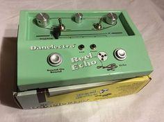 Danelectro Reel Echo #EchoPlex #Echo #Delay #Danelectro Echoplex Style Delay Effects Pedal Box Instruction Manual | eBay