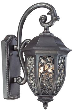 """$150 - Buy the The Great Outdoors 9261-262 Allendale Bronze Direct. Shop for the The Great Outdoors 9261-262 Allendale Bronze 2 Light 17"""" Height Outdoor Wall Sconce from the Allendale Park Collection and save."""