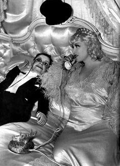 Mae West and Charlie McCarthy