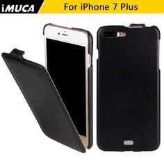 for iPhone 7 Case iPhone 7 plus Cover Luxury Flip Leather Cases Cover iMUCA brand Mobile Phone Accessories capa fundas