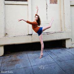 Ballet Zaida. Jeanette Kakareka. Photo by Oliver Endahl.