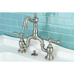 Bathroom Faucets Jamaica look!: combine hot & cold faucets on old sinks — boston | faucet