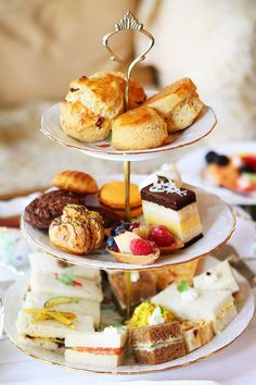 Afternoon Tea in Beverly Hills- If this is what afternoon tea looks like, then I want afternoon tea everyday! :)