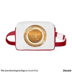 The Lion Astrological Sign Fanny Pack