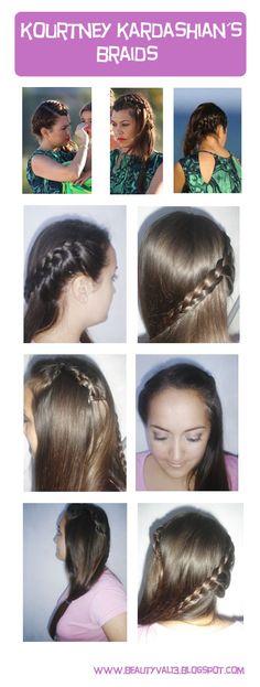 Koutney Kardashian`s inspired  hair tutorial, new post! check it out!