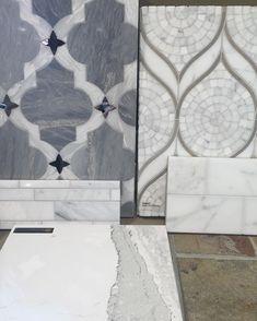 backsplash options to go with this amazing Cambria countertop! #interiordesign #kitchenremodel #cambria #backsplash #kedrachalendesign