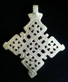 Large Handmade Ethiopian Cross Pendant by Handmadeinethiopia, $15.99