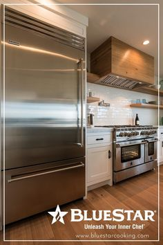 Stunning! Check out the new and improved Build Your Own BlueStar tool today! Now you have the ability to customize both ranges AND refrigerators to build your dream kitchen.