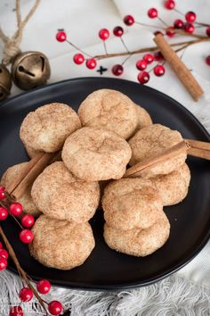 Cinnamon Cream Cheese Cookies, an easy, tender cookie bursting with cinnamon sugar. The perfect #ChristmasCookie ! #Recipe from ThisSillyGirlsKitchen.com #cookie #creamcheese #cinnamon #creamcheesecookie