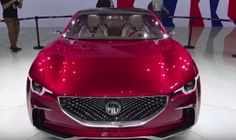 Modern Science: MG E-Motion Concept Unveiled In Shanghai