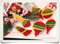 Vintage Bulb Ornaments Trad $22.50
