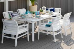 Add a little Italian culture to your outdoor space with Nardi garden furniture. Modern Nardi garden furniture offers top quality without the price tag. Outdoor Dining Set, Outdoor Rugs, Outdoor Tables, Outdoor Decor, Garden Furniture, Home Furniture, Outdoor Furniture Sets, Furniture Design, Furniture Ideas