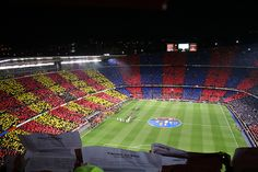 Camp Nou, been there and done this =)
