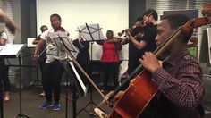 iBuyile iAfrika - performed by members of the SA National Youth Orchestra Orchestra, Youth, African, Music, Design, Musica, Musik, Muziek