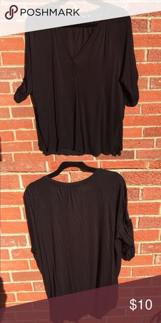 MNG Black Tee Comfy weekend Tee. Comes from a smoke free and pet free home. Moving soon so I need sell as quickly as possible. Accepting all reasonable offers but please use the offer button. MNG Basics  Tops