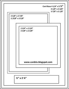CARDZ TV: CARDZ TV CARD KIT & KABOODLE SKETCH ONE