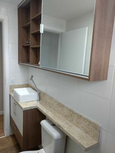 ideas for bathroom small closet tile Mdf Furniture, Bathroom Furniture, Bathroom Design Small, Modern Bathroom, Toilet Tiles, Space Saving Bathroom, Small Toilet Room, White Marble Bathrooms, Dressing Table Design