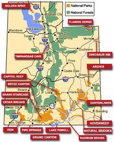 Utahs National Parks