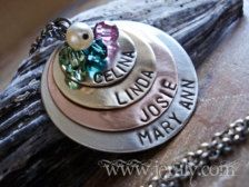 Birthstone in Necklaces - Etsy Jewelry