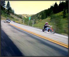 Trike drifting! looks epic #drifttrike #drift-trikes