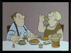 LORIOT: The Breakfast Egg - Das Frühstücksei (English subtitles)