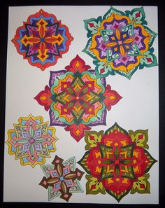 Coloring Book Pages You Can Make Yourself Using Rubber Stamps By Kathryn Read