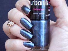 Esmalte Urbanik cor Asfalto Quente  #esmalte #unhas #nails