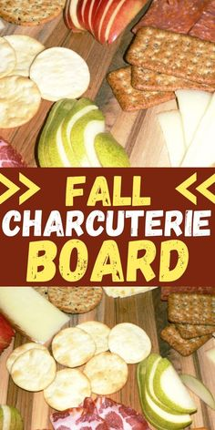 Fall Charcuterie Board is the best for fall dinner! You will love this autumn charcuterie board that comes together in just 10 minutes