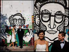 Wedding couple, Santiago, Chile. ©Linn Bergbrant