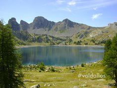 Au coeur du Parc national du Mercantour www.valdallos.com #lac #montagne #mercantour #valdallos